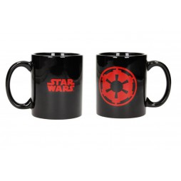 Star Wars - Tazza - Mug Cup - Logo Impero - Imperial Logo - Red/Black