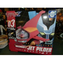 Metal Action 03 - Mazinga Z - Mazinger Z Head e Jet Pilder - BLACK 03 VERSION