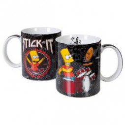 The Simpsons - I Simpson - Tazza - Mug Cup - Bart Drum Stick It
