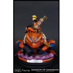 Naruto - Tsume Art HQS Statue - Naruto Uzumaki Summon of Gamakichi Statue