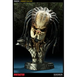 Predator - Sideshow - Legendary Scale Bust - Unmasked Predator - Limited Edition