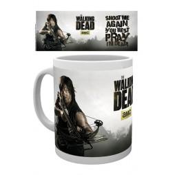 The Walking Dead - Tazza - Mug Cup - Daryl Dixon - 320 Ml