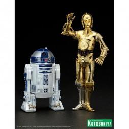 Star Wars - EP. IV A.N.H. - ARTFX+ STATUE scale 1/10- KOTOBUKIYA - C-3PO & R2-D2