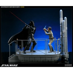 Star Wars - EP. V E.S.B. - Luke Skywalker Vs. Darth Vader On Bespin Diorama