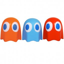 Video Games - Pac-Man - Antistress Doll - Ghost - SET
