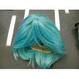 Vocaloid Hatsune Miku - Parrucca Caschetto Centrale - Cosplay Parrucca Sintetica
