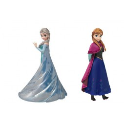 Walt Disney - Frozen - Figuarts Zero - Anna + Elsa - Figure SET