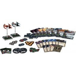 X-WING: ASSI IMPERIALI - Pack di Espansione contenente 2 miniature di nuove varianti dell'Intercettore TIE