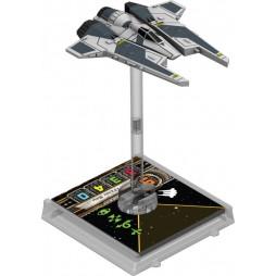 X-WING: ASTROCACCIA DEL PROTETTORATO - Star Wars Pack di Espansione contenente 1 miniatura dell'ASTROCACCIA DEL PROTETT