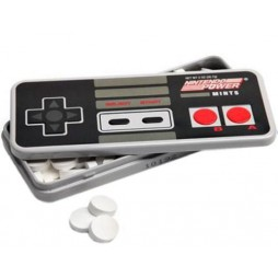 Video Games - Retro Nintendo Power Nes - Tin BonBon BOX - Contenitore Per Caramelle in Latta -- RETRO Nintendo Power NES