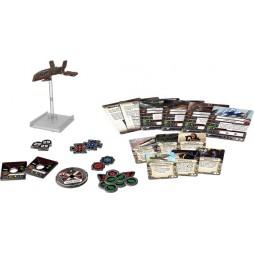 X-WING: HWK-290 - Star Wars Pack di Espansione contenente 1 miniatura dei Mercantile Leggero HWK-290
