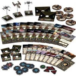 X-WING: I RICERCATI - ESPANSIONE - Pack di Espansione contenente 3 miniature: 1 caccia Ala-Y e 2 Z-95 Headhunter