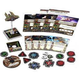 X-WING: INTERCETTORE M3-A - Star Wars Pack di Espansione contenente 1 miniatura dell\'Intercettore M3-A