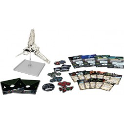 X-WING: NAVETTA CLASSE LAMBDA - Star Wars Ep.V Pack di Espansione contenente 1 miniatura dello Shuttle Imperiale