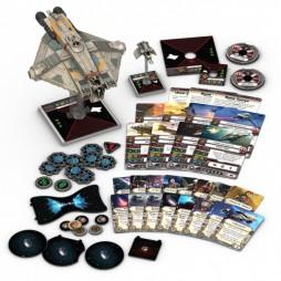 X-WING: SPETTRO - Star Wars Rebels Pack di Espansione contenente 1 miniatura del veicolo VCX-100 e della sua navetta d'