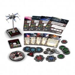 X-WING: T-70 - HERO PACK - Star Wars TFA Pack di Espansione contenente 1 miniatura del caccia T-70