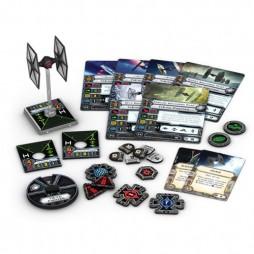 X-WING: TIE/fo - VILLAIN PACK - Star Wars TFA Pack di Espansione contenente 1 miniatura del caccia TIE/fo
