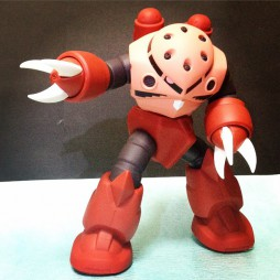 MSM-07S Z\'Gok Sofubi Soft Action figure