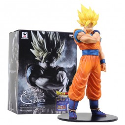 Dragon Ball Z - Resolution Of Soldiers VOL1 - BANPRESTO - Gokou Super Saiyan Figure