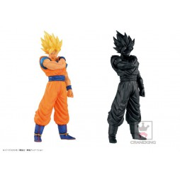 Dragon Ball Z - Resolution Of Soldiers VOL1 - BANPRESTO - Gokou Super Saiyan Figure - SET