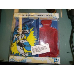 Dc Comics - Batman - Scaldamani Riutilizzabili Con Bustina In Tessuto