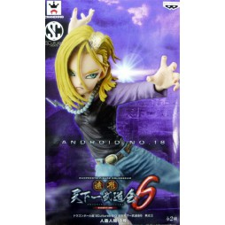 Dragon Ball Scultures - Big Colosseum Zoukei Tenkaichi Budokai 6 Vol. 3 - (Android 18) C-18