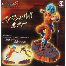 Dragon Ball Scultures - Big Colosseum Zoukei Tenkaichi Budokai 5 Special Vol.1 - F Movie Resurrection - Gokou Super Saiy