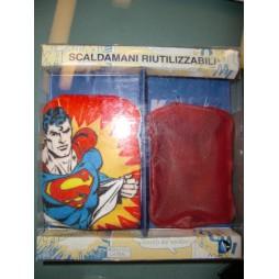 DC Comics - Superman - Scaldamani Riutilizzabili Con Bustina In Tessuto