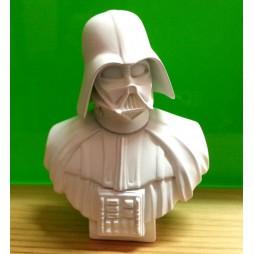 Star Wars - Takara Tomy A.R.T.S. YUJIN - Polystone Mini Bust Statue Figure - SR Gashapon SET - Darth Vader