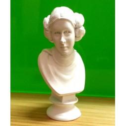 Star Wars - Takara Tomy A.R.T.S. YUJIN - Polystone Mini Bust Statue Figure - SR Gashapon SET - Prinicipessa Leila - Prin