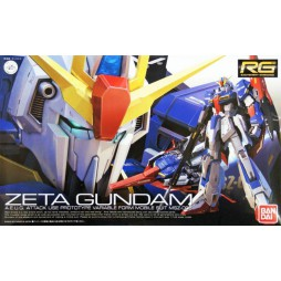 RG Real Grade - 10 MSZ-006 Zeta Gundam A.E.U.G. Attack Use Prototype Variable Form Mobile Suit 1/144
