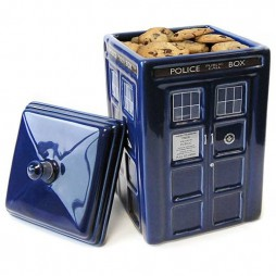 Doctor Who - Cookie Jar - Biscottiera in porcellana - Tardis Porcelain