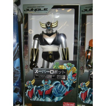 Goldrake - Ufo Robot Grendizer - Grendizer - Marmit 40cm By Jungle - MAZIN GO JUNGLE ORIGINAL COLOR SERIES - Black Versi
