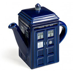 Doctor Who - Teapot - Teiera in Porcellana - Tardis Porcelain