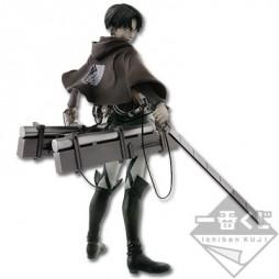 Attack on Titan - L\'Attacco dei Giganti - Ichiban Kuji Shingeki no Kyojin - Kuji Dakkan Sakusen - Figure Levi Rivaille S