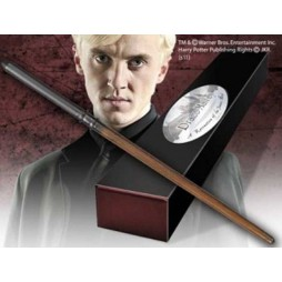 HARRY POTTER - Bacchetta Magica Harry Potter Wand - Harry Potter (3) Draco Malfoy - Noble Collection NN8409