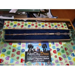 HARRY POTTER - Bacchetta Magica Harry Potter Wand - Harry Potter (4) Sambuco Albus Silente/