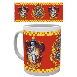 Harry Potter - Tazza - Mug Cup -Crest Series - Gryffindor Crest