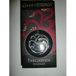 Game Of Thrones - Il Trono di Spade - Collana - Targaryen Symbol - Pendant