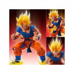 Dragon Ball Kai - Medicos Entertainment Super Figure Art Collection - PVC Statue - Son Gokou Super Saiyan