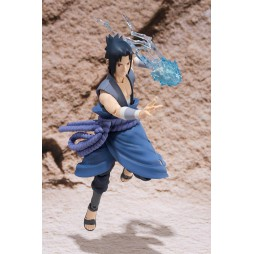 S.H. Figuarts Naruto: Sasuke Uchiha Battle Tamashi Web Exclusive Action Figure