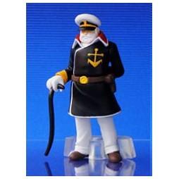 Space Battleship Yamato - Star Blazers - HGIF Bandai - Gashapon SET - Capitano Avatar (Juzo Okita)