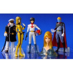 Space Battleship Yamato - Star Blazers - HGIF Bandai - Gashapon SET - Complete 5 Figure SET