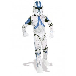 STAR WARS - Rubie's - Clone Trooper Deluxe Teen Costume - Taglia Large 09/10 Anni