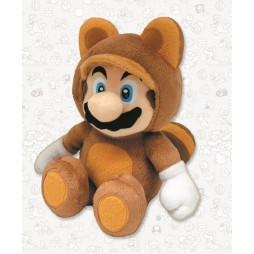 Super Mario Series Plush - Tanooki Mario - Peluche 21 cm
