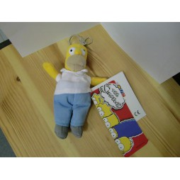 The Simpsons Plush - Peluche - Portachiavi - Simpsons Homer - Peluche 17 cm