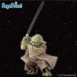 Star Wars - EP II T.C.W. - Sega Prize Premium Figure - 1/10 Scale - Master Yoda