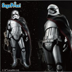 Star Wars - EP VII T.F.A. - Sega Prize Premium Figure - 1/10 Scale - Captain Phasma