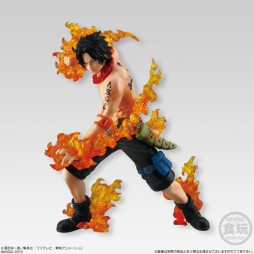 One Piece - ONE PIECE ATTACK STYLING Honoo no Sankyoudai - Trading Figure SET - Portgas D. Ace