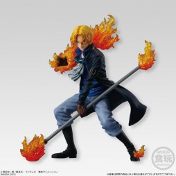 One Piece - ONE PIECE ATTACK STYLING Honoo no Sankyoudai - Trading Figure SET - Sabo